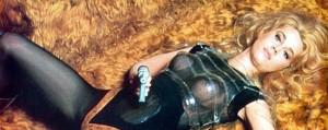 Barbarella interpretada por Jane Fonda