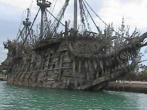Un dos barcos utilizados na triloxía