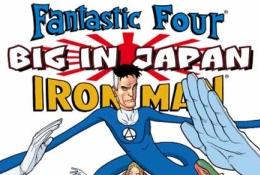 Os 4 Fantásticos en manga