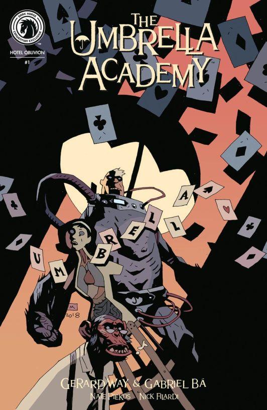 The Umbrella Academy, un dos títulos da Dark Horse