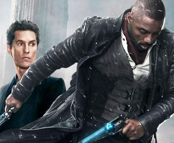 Idris Elba e Matthew McConaughey en The Dark Tower