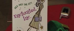 Enchanted, a capa do libro