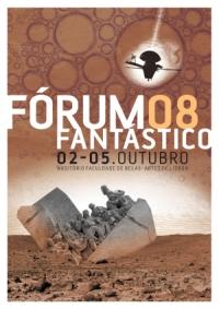 O Cartaze do Forum Fantastico 2008