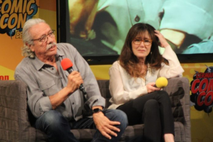 Edward James Olmos e Mary McDonnell