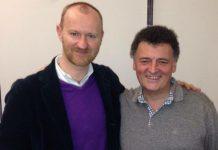 Mark Gatiss e Steven Moffat