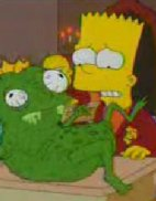 Bart Simpson coma Harry Potter