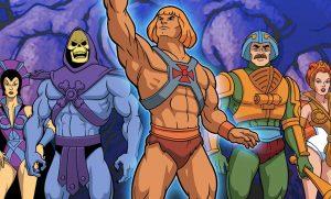 He-Man e mais os seus amigos