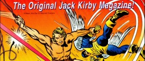 Comic adicado a Jack Kirby