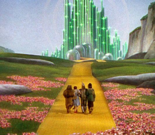 O camiño das losas amarelas na Terra de Oz