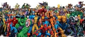Os persoaxes da Marvel