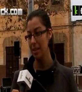 Natalia Corbillón, entrevistada nunha tele de Youtube