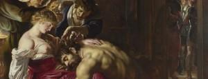 Sansón e Dalila, por Rubens